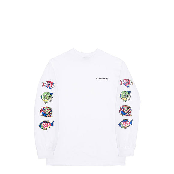 Alltimers Deep Sea long sleveed tee white Canada
