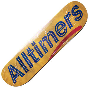 "Alltimers Packing Tape logo deck (8.1"") Canada"