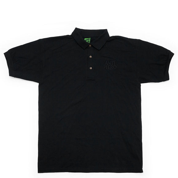 Anti Hero Black Hero Polo S/S