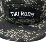 Tiki Room Arch Label Five Panel