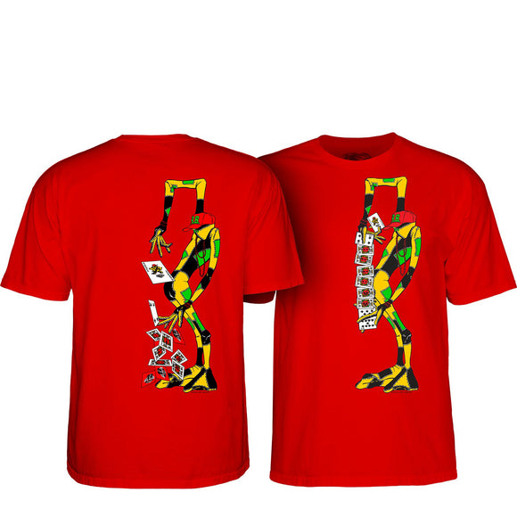 Powell Peralta Barbee Ragdoll s/s t-shirt red Canada