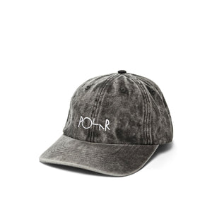 Polar Denim hat, black acid