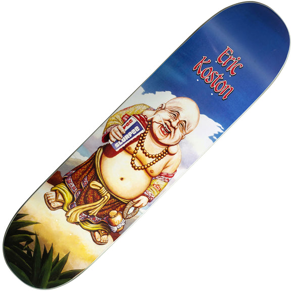 101 Eric Koston Buddha slick reissue deck (7.625