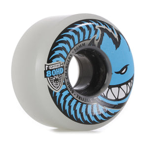 Spitfire 80HD Chargers Conical Wheels (56mm) - Clear