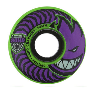 Spitfire 80HD Chargers Classic Wheels (54mm) - Green