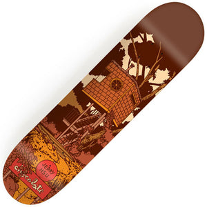 "Chocolate Hsu Tree House Deck (8.0"")"