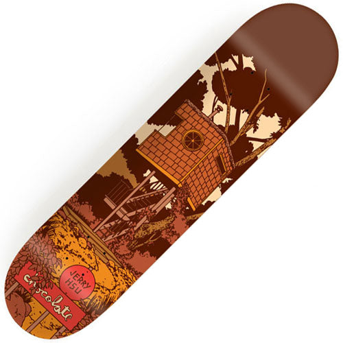 Chocolate Hsu Tree House Deck (8.0