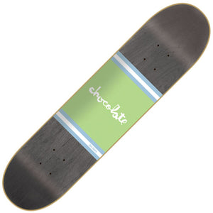 "Chocolate Roberts Team Stripe Deck (8"")"