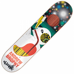 "Cliche Skateboards Andrew Brophy Motion Series Impact Deck (8.25"")"