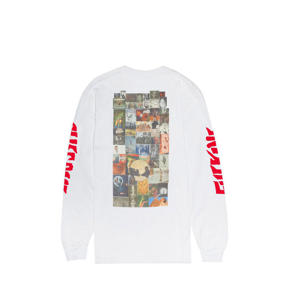 Fucking Awesome Collage L/S tee white Canada