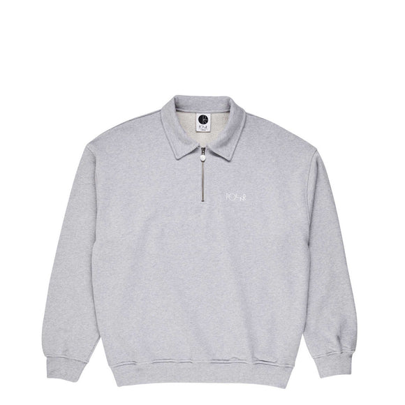 Polar Zip Neck Fleece crew sports grey Canada