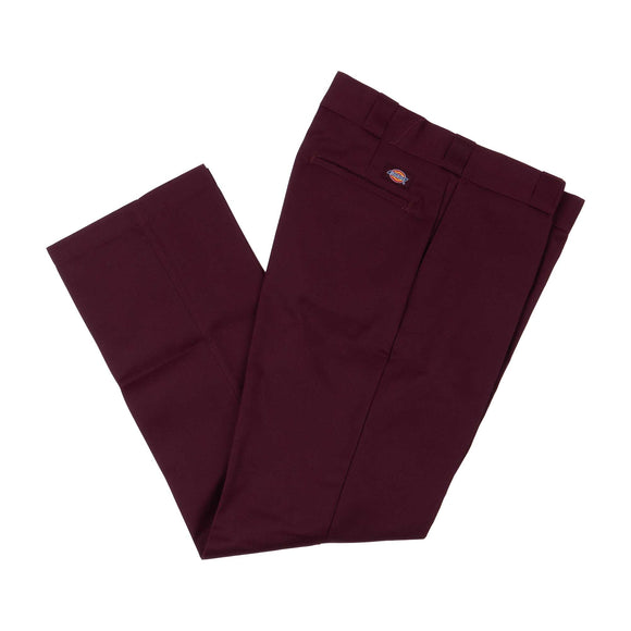 Dickies Work Pant (Plain Front) 874MR Maroon Canada