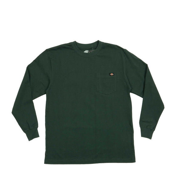 Dickies L/S Heavy Crew Shirt WL450GH hunter green Canada