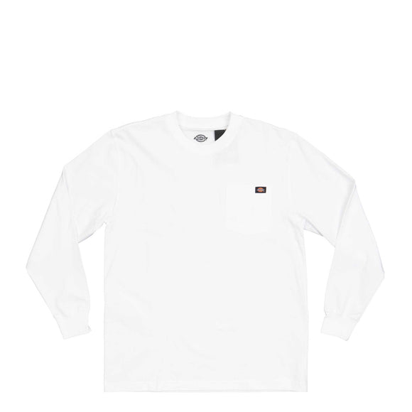 Dickies L/S Heavy Crew Shirt white Canada