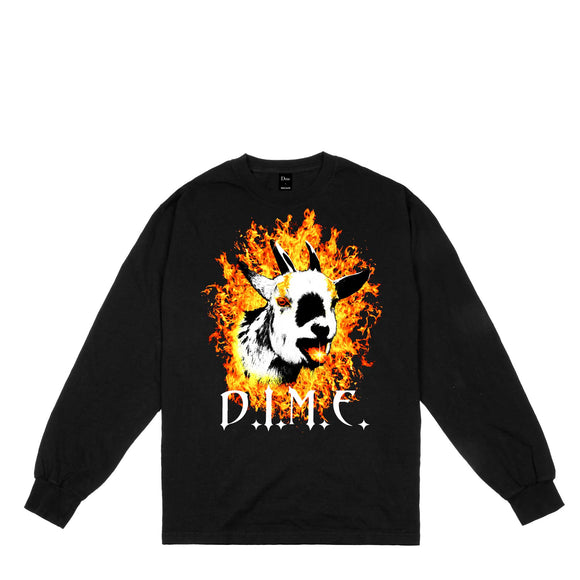 Dime Fire Goat long sleeve tee black Canada