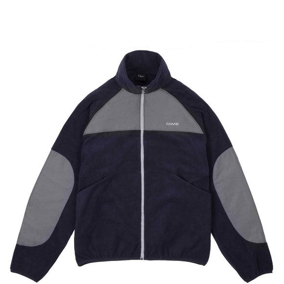 Dime Polar Fleece track jacket navy/charcoal Canada