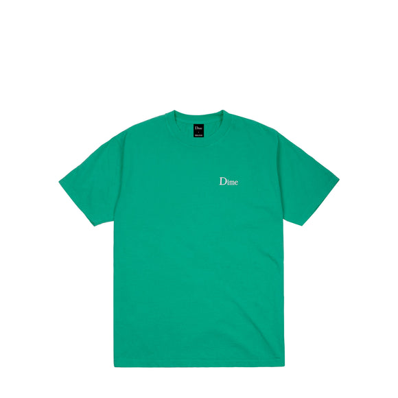 Dime Classic Logo embroidered tee emerald Canada