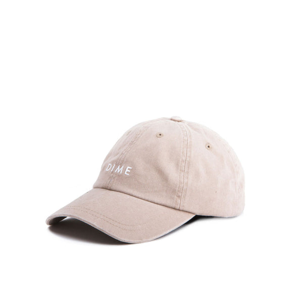 Dime Basic 6 Panel Hat - Tan