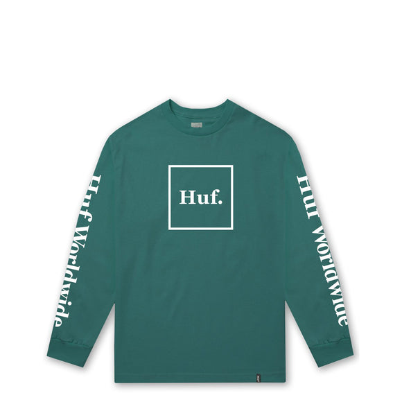 HUF Domestic long sleeve tee deep jungle Canada