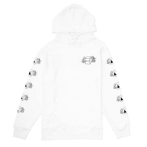 Fucking Awesome Box Wings hoodie FA-HD007-HO19 White Canada