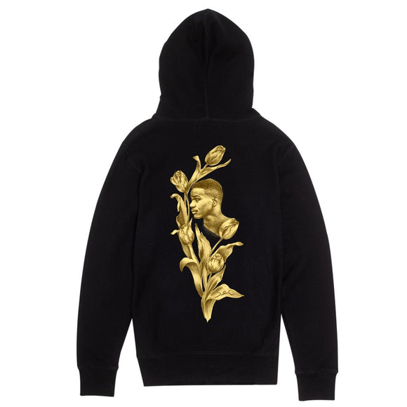 Fucking Awesome Flowers hoodie FA-HD010-HO19 Black Canada
