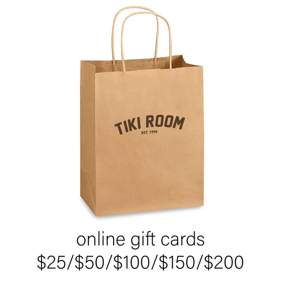 Tiki Room Online Gift Card