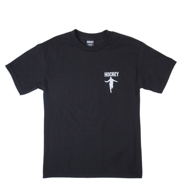 Hockey Silhouette Embroidered T-Shirt