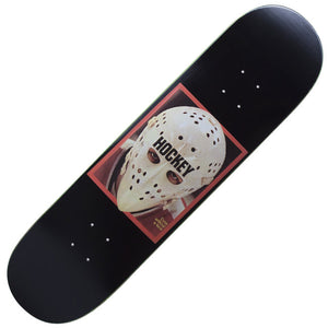 "Hockey Eyes Without A Face Deck - Black (8.25"")"