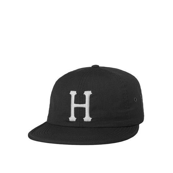 HUF Classic H Formless 6 Panel Hat - Black