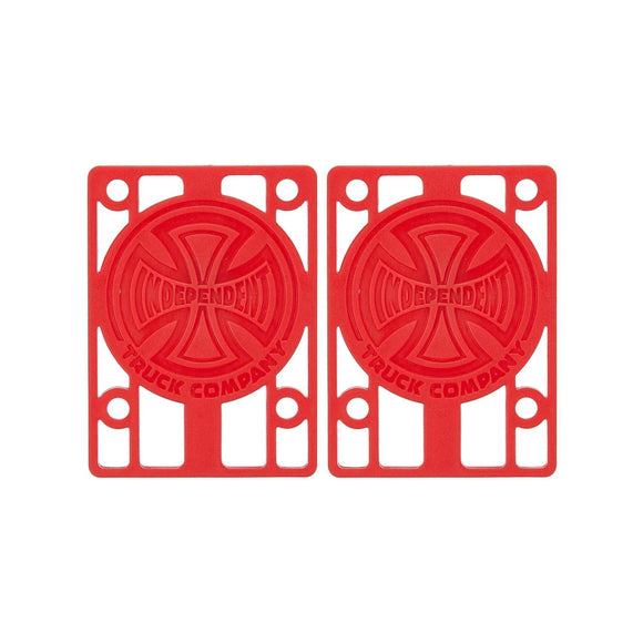 Independent 1/8 Inch Risers, red (set of 2) Canada