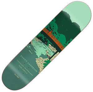 "Chocolate Park Service Anderson Deck (8.125"")"