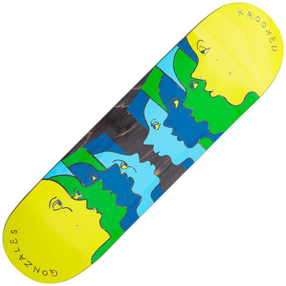 Krooked Gonz Face Off deck (8.62