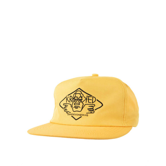 Krooked Arketype snapback, Gold Canada