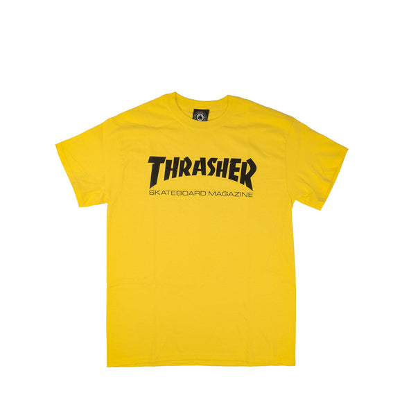 Thrasher Skate Mag Tee, yellow, Canada