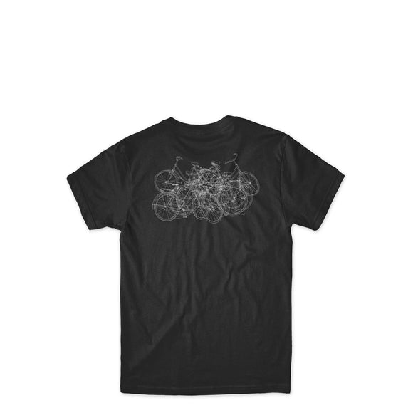 Chocolate Modernica tee black Canada