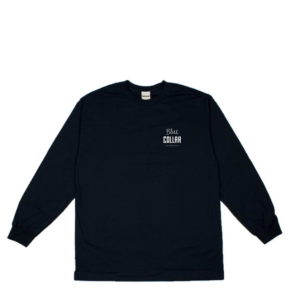 Blue Collar OG Stack L/S tee