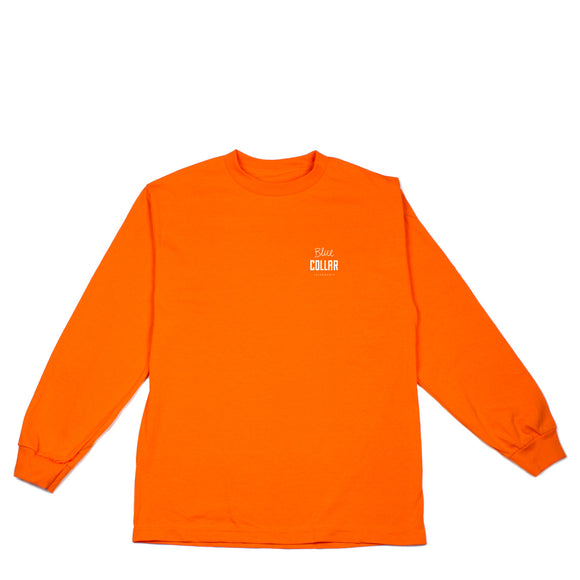 Blue Collar OG Stack L/S Tee safety orange Canada