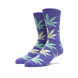 HUF Plantlife Crew Sock - Purple