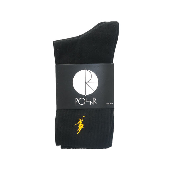 Polar No Comply Sport Sock - Black
