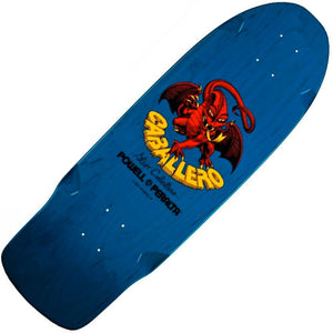 "Powell-Peralta Steve Caballero Bones Brigade Re-Issue Deck (Blue, 10"")"