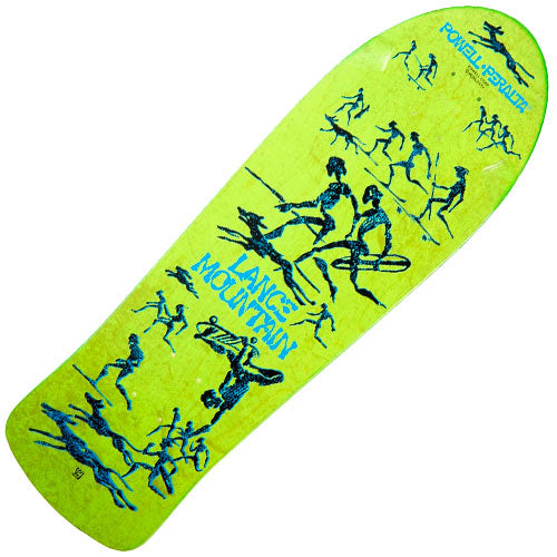 Powell-Peralta Lance Mountain Bones Brigade Re-Issue Deck (Green, 10