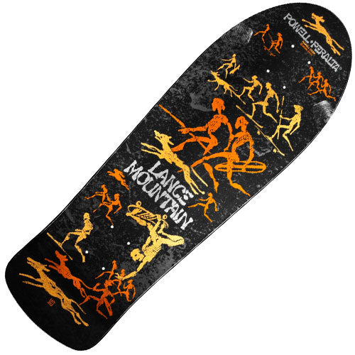 Powell-Peralta Lance Mountain Bones Brigade Re-Issue Deck (Metallic Black, 10