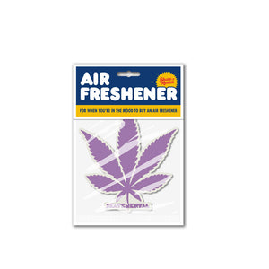 Skate Mental Purple Leaf Air Freshener