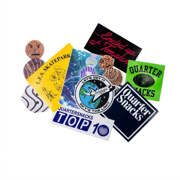 Quartersnacks sticker pack Canada
