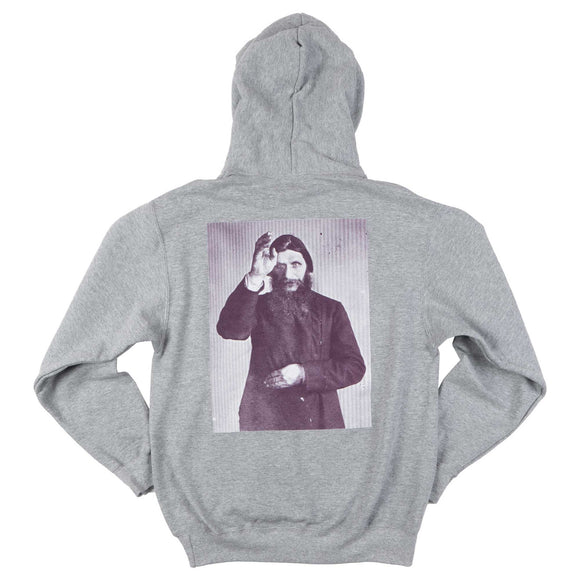 Theories Rasputin hoodie heather grey purple Canada