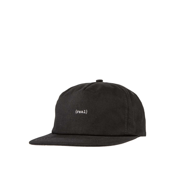 Real Lower Snapback hat, Black/Grey