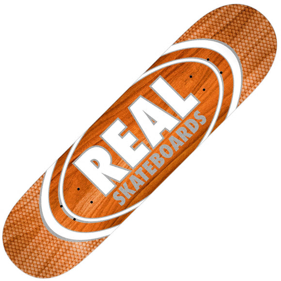 Real Oval Patterns Team series slick deck (8.25