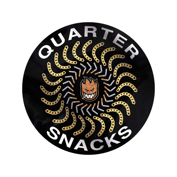 Spitfire x Quartersnacks Quarter Classic sticker Canada