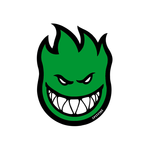 Spitfire Fireball sticker (green, medium)