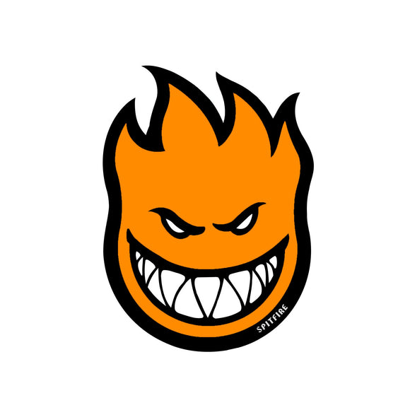 Spitfire Fireball sticker (orange, medium)